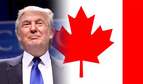 Is Canada already seeing the impact of a tumultuous U.S. election campaign that many fear will result in Donald Trump becoming president this week?